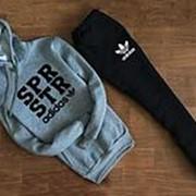 Мужской спортивный костюм Adidas, с капюшоном фото
