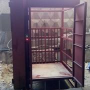 Подъемник грузовой электрический фото