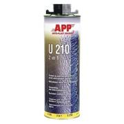 APP Средство для защиты кузова и герметик APP U210 2 in 1 черное фото
