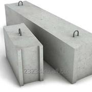 Бетонный фундаментный блок 1200 х 600 х 600 мм фото