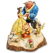 "Скульптура ""Красавица и Чудовище (Сказка стара как мир)"" 18х18х17см. арт.4031487 Disney фото"