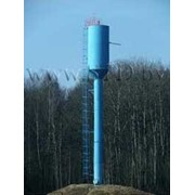 Башня водонапорная унифицированная стальная фото