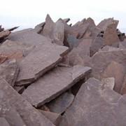 Камень песчаник из карьера красный по низкой цене в Украине фото