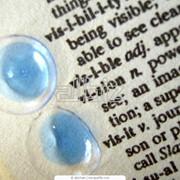 Линзы контактные. фото