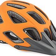 Велошлем спорт CREEK HST 161 17отв. ABS HARD SHELL/EPS матово-оранжево-черный 54-57см AUTHOR фото