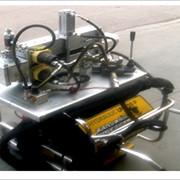 Задувка кабеля машинками волоконно-оптического кабеля фото