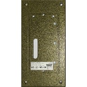 MP-100 Комплект монтажный (на стену) для блоков вызова БВД-SM101х, БВД-342х,домофона VIZIT (панель-1 шт,клемник-1 шт,заглушка-4 шт,комплект фото
