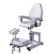Кресло педикюрное винтовое. Оборудование косметологическое фото