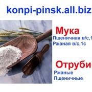 Мука пшеничная 1с. Мука ржаная 1с. фото