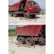 Автомобильные весы для поосного взвешивания, наибольший предел взвешивания 30 000 кг, наименьший 100 кг. Цена поверочного деления 10 кг фото