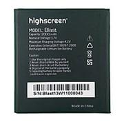 Аккумулятор для Highscreen Blast (2000 mAh) фото