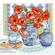 Набор для вышивания Маки (Poppies) фото