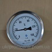 Термометр биметаллический ТБ-80 фото
