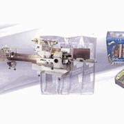 Линия ОМАГ (OMAG) Вариант 4, автоматическая/полуавтоматическая по групповой упаковке гранулированных и мелкоштучных продуктов фото