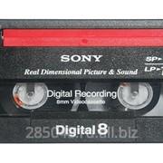 Оцифровка видеокассеты Digital8 фото
