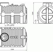 Емкость для автономной канализации (Септик) фото
