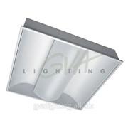 Светильник люминесцентный типа ЛВО11-940 встраиваемый для общественных помещений фото