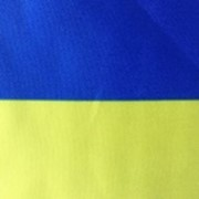 Флаг Украины атлас 90см*135см фото
