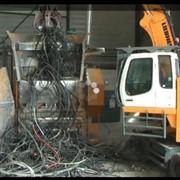 Линии по переработке отходов кабеля и лома цветного металла фото