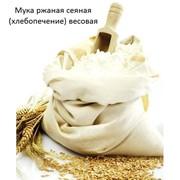 Мука ржаная сеяная (хлебопечение) весовая фото