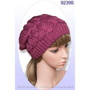 Вязаные шапки модель 9239S фото