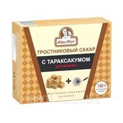 Сахар прессованный, тростниковый, кусковой, с экстрактом Одуванчика, ТУ 330 г фото