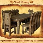 Мебель деревянная под старину фото