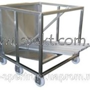 Транспортировочная тележка для перевозки коптильных палок фото