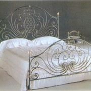 Кованая мебель для спальни фото