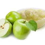Пюре яблочное фото