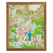 "Картина ""Цветочные феи"" багет 46х56 см 5002 фото"