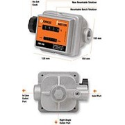 Механический расходомер для учета бензина, дизтоплива, легких масел - FM-100 (GROZ) фото