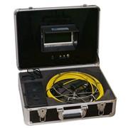 Система видеодиагностики с проталкиваемым кабелем до 50 метров (телеинспекция) фото