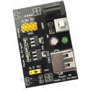 MB102 стабилизатор напряжения Breadboard 3.3V 5V USB модуль питания Power Supply Module Стабилизатор напряжения для Bread board доски Arduino На вх фото