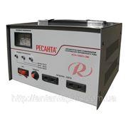 Стабилизатор напряжения электромеханический однофазный АСН-1000/1-ЭМ фото