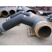 Отвод с металлической заглушкой изоляции ГОСТ 30732-2006 фото