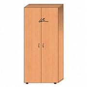 Двухстворчатый гардеробный шкаф ШО.008 фото