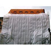Тент для накрытия строительных объектов 10мХ15м фото