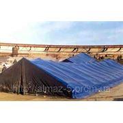 Тент 10 х 18 (м) готовый универсальный Тарпаулин с ПВХ покрытием фото