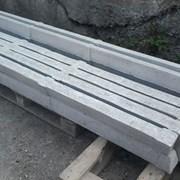 Столбики для рабицы и винограда бетонные L=2,5м фото