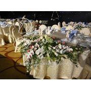 Аренда праздничного текстиля и оформление торжества фото