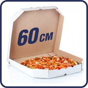Упаковка, коробка для пиццы 60 см (600х400х40) фото