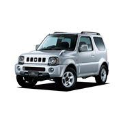 Автомобили джипы трехдверные Suzuki Jimny фото
