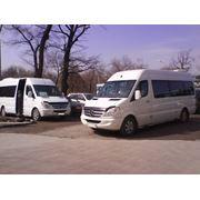 Микроавтобусы Mercedes Sprinter пассажирские перевозки фото