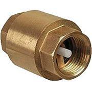 Клапан обратный бронзовый пружинный фото
