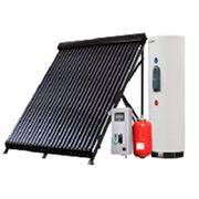 Монтаж солнечных систем отопления и ГВС фото