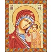Икона Божьей Матери Казанская Венчальная пара. фото
