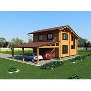 Дома деревянные под ключ из бруса проекты дизайн интерьера фото