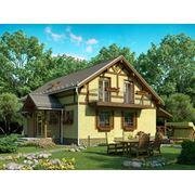 Строительство деревянных каркасных домов фото