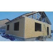 Продажа комплекта деревянно-каркасного сборно-щитового дома фото